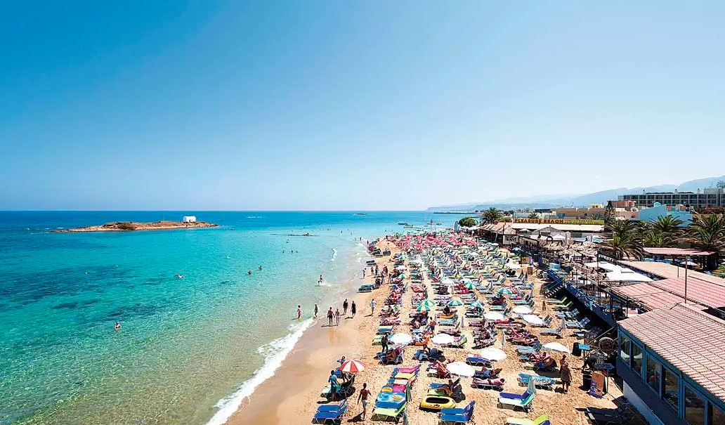 Taxi transfer from Heraklion airport / port to Mallia, Malia